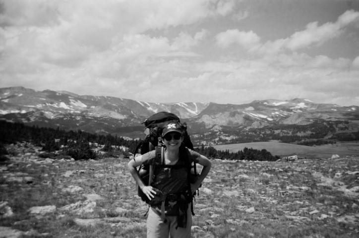 Emma B. Hiking