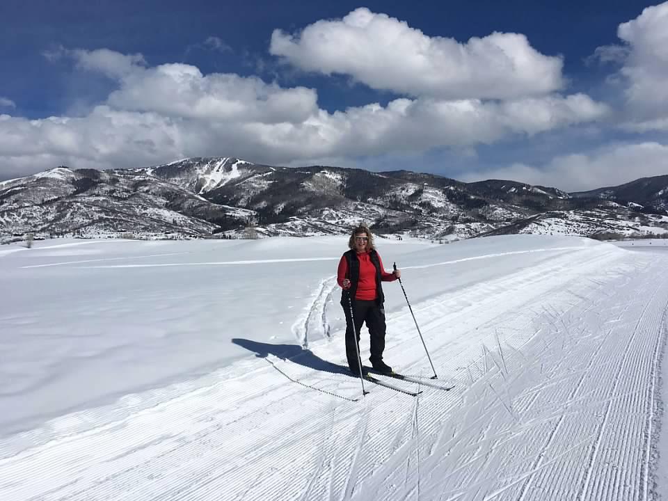 Rachel C Cross Country Skiing
